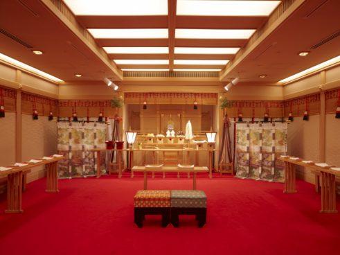 神殿(ホテル・アゴーラリージェンシー堺)