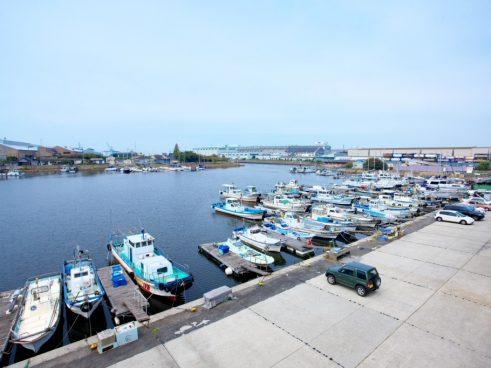 堺(出島)漁港