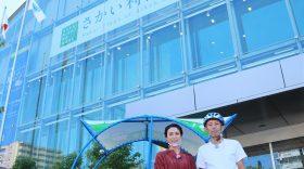毎日放送「ちちんぷいぷい」で自転車タクシーが取り上げられました!